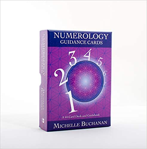 Numerology Guidance Cards: A 44-Card Deck and Guidebook by Michelle Buchanan (Author)