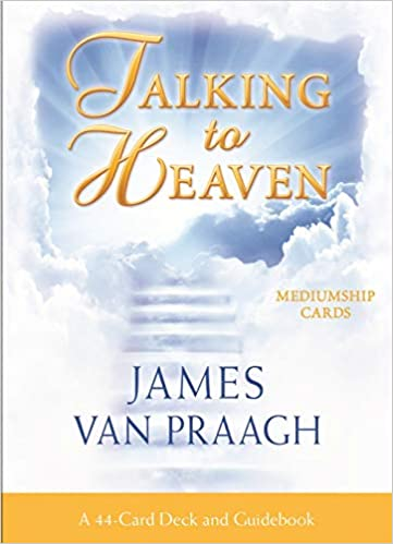 Talking to Heaven Mediumship Cards: A 44-Card Deck and Guidebook by Doreen Virtue PhD (Author), Mr James Van Praagh (Author)