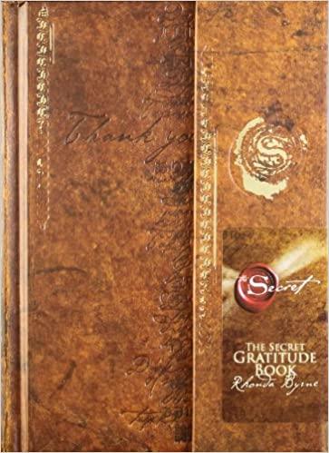 Secret Gratitude Book by Rhonda Byrne (Author)